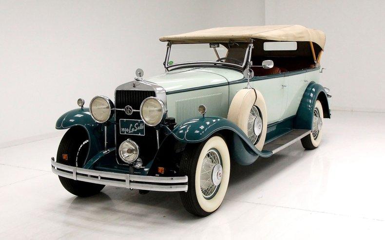 1930 LaSalle Phaeton 7 Passenger Touring Car 1