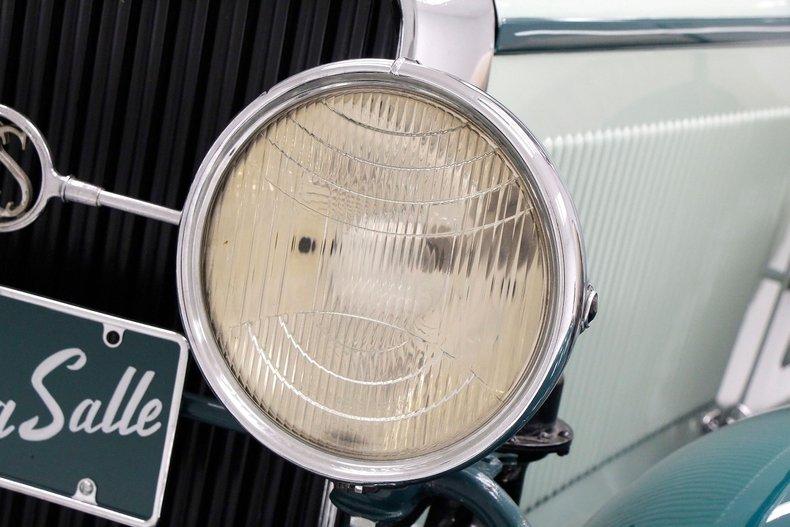 1930 LaSalle Phaeton 7 Passenger Touring Car 11