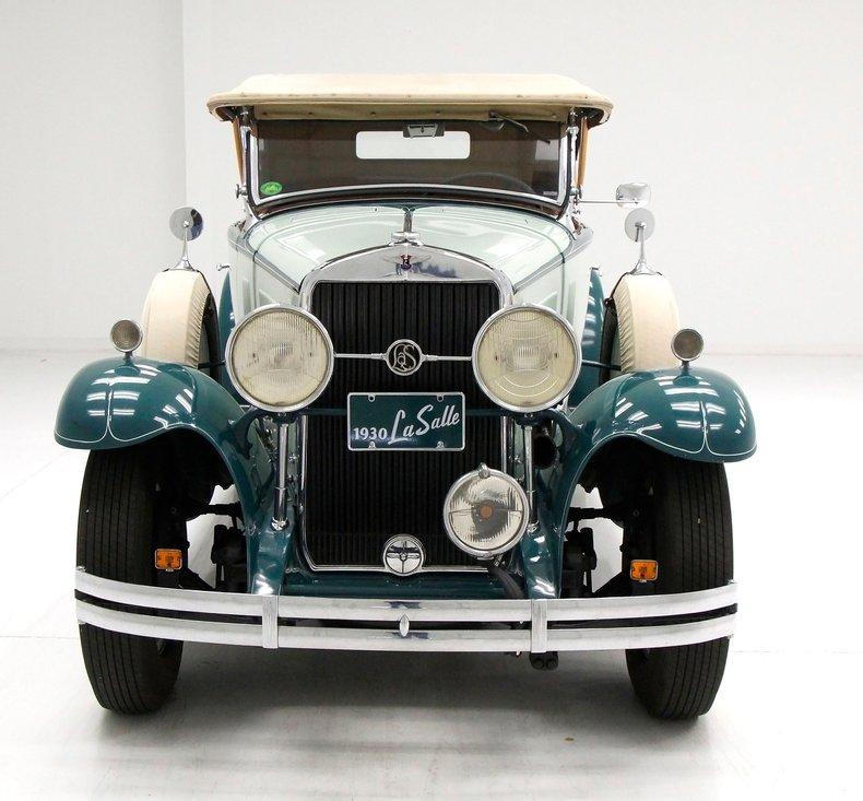 1930 LaSalle Phaeton 7 Passenger Touring Car 9