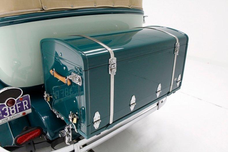 1930 LaSalle Phaeton 7 Passenger Touring Car 19