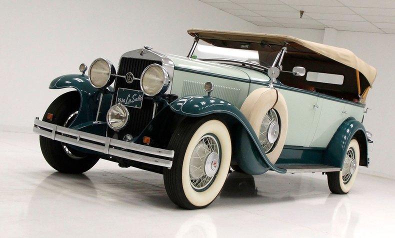 1930 LaSalle Phaeton 7 Passenger Touring Car 5