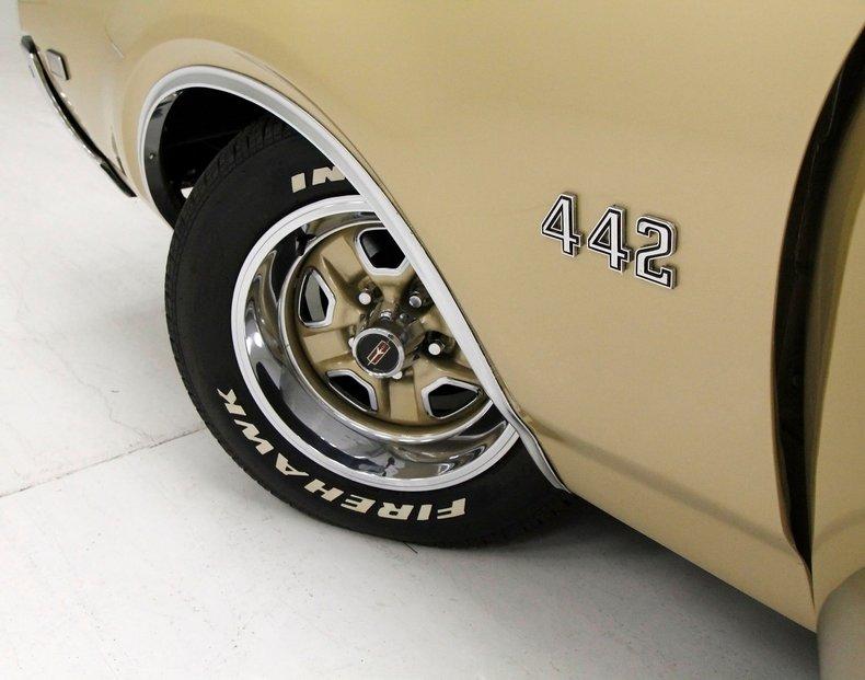 1969 Oldsmobile 442 9