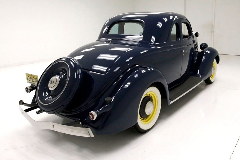 1936 Ford 5 Window Coupe 5