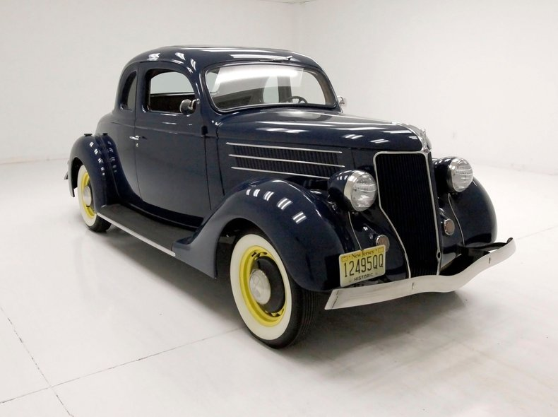 1936 Ford 5 Window Coupe 6