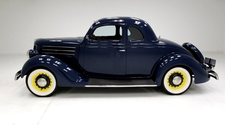1936 Ford 5 Window Coupe 2