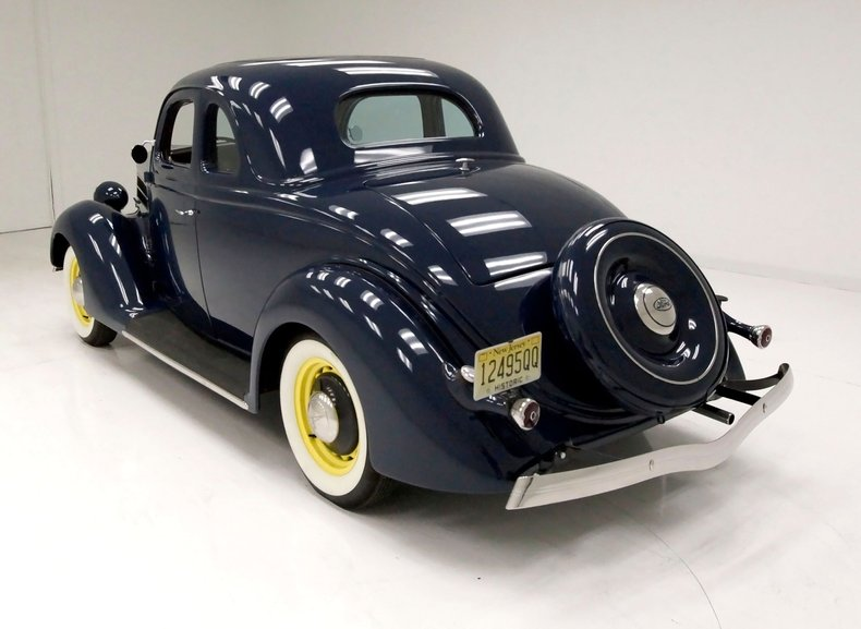 1936 Ford 5 Window Coupe 3