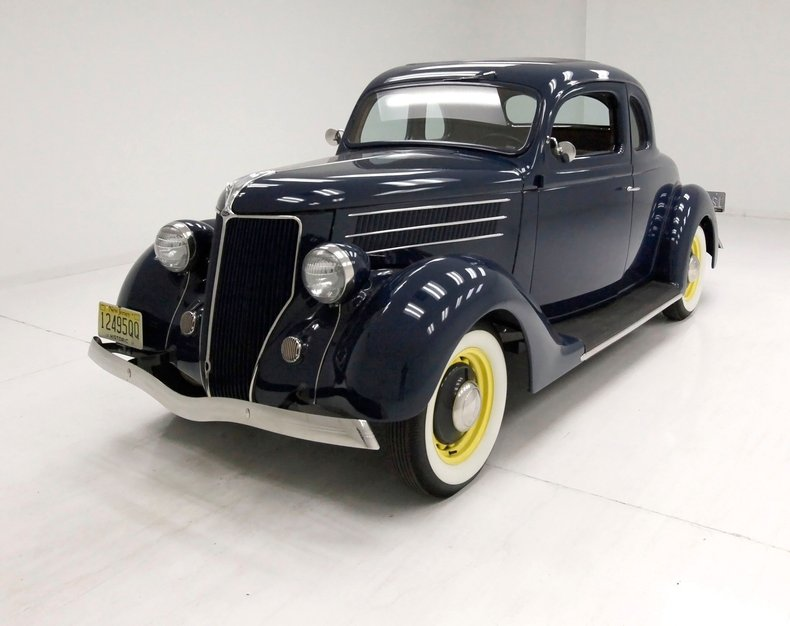 1936 Ford 5 Window Coupe 1