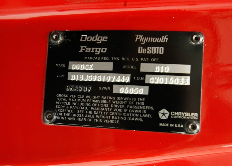 1979 Dodge Lil' Red Express 19