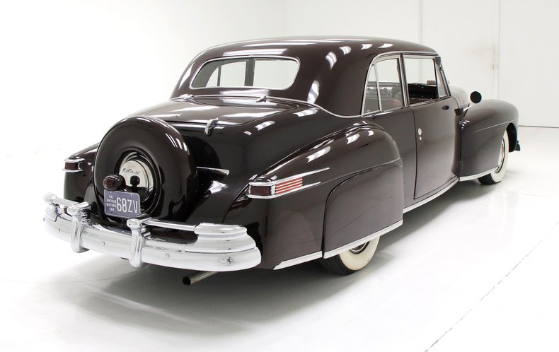 1948 Lincoln Continental 12