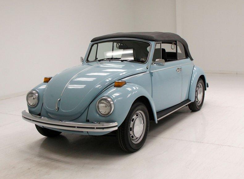 1972 Volkswagen Super Beetle For Sale