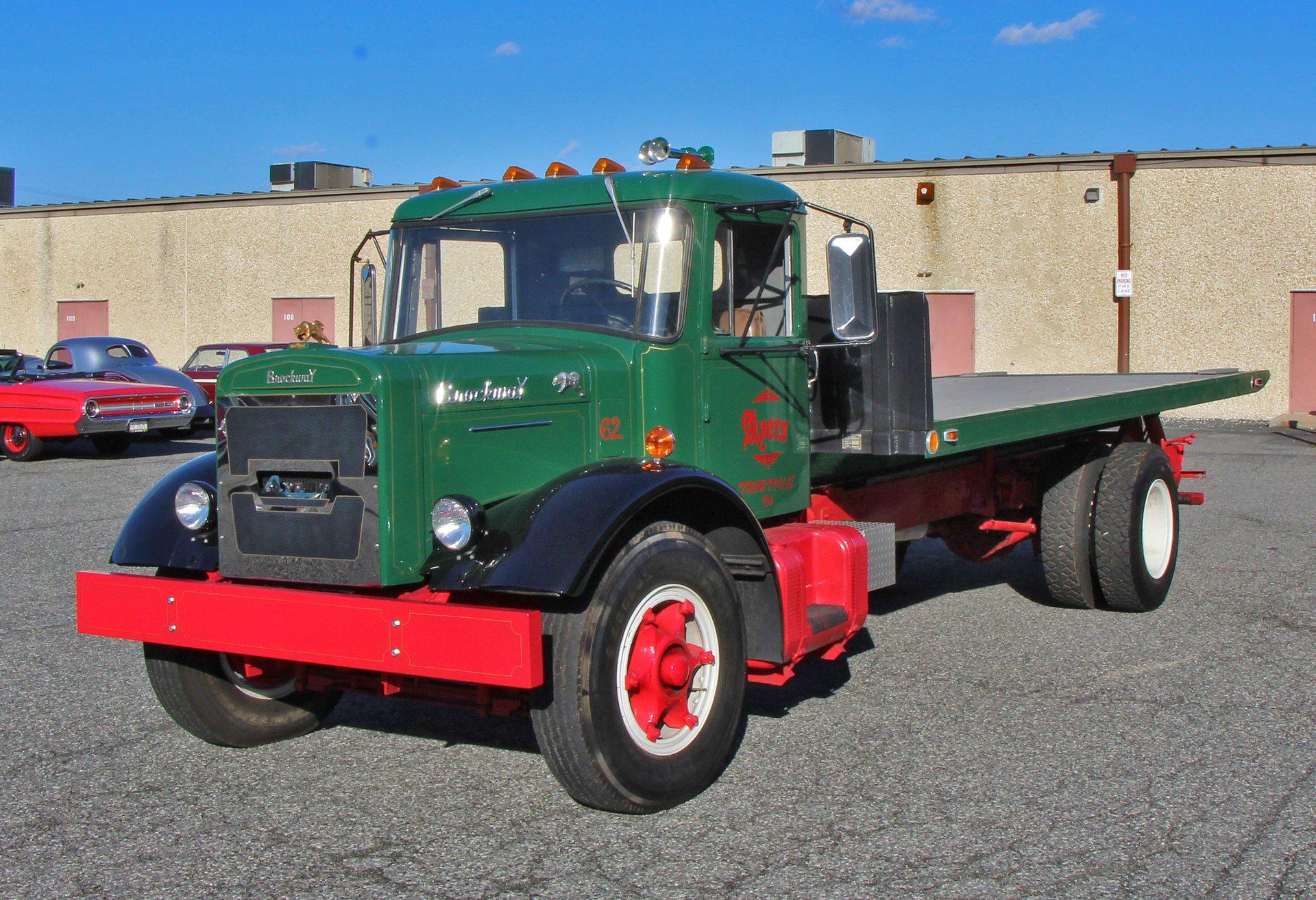 1962 Brockway Rollback Truck