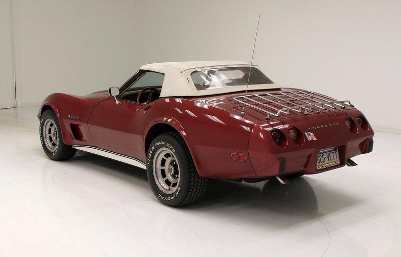 1975 Chevrolet Corvette Convertible 3
