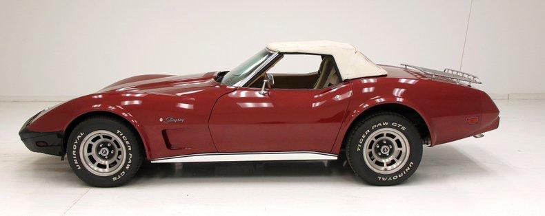 1975 Chevrolet Corvette Convertible 2