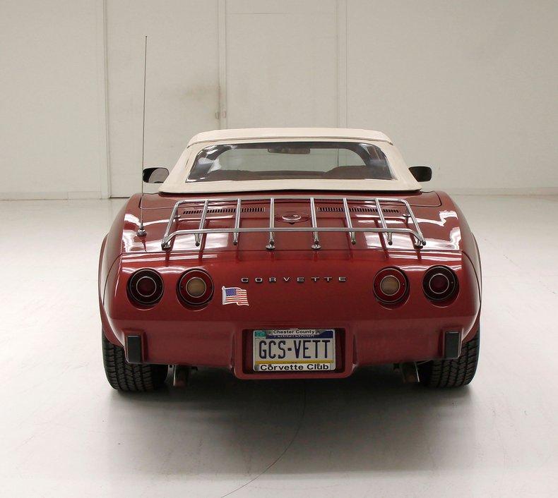 1975 Chevrolet Corvette Convertible 5