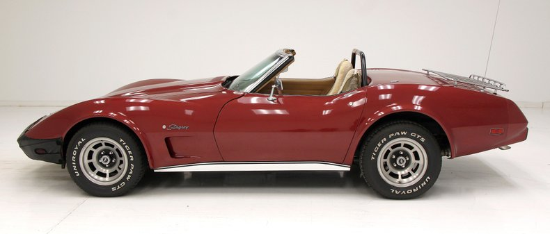 1975 Chevrolet Corvette Convertible 6