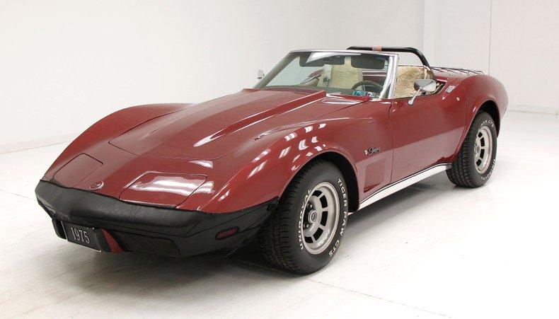 1975 Chevrolet Corvette Convertible 4