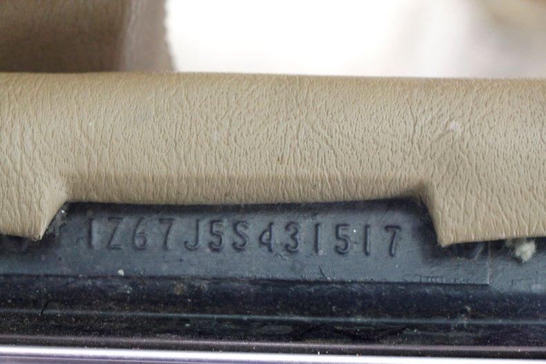 1975 Chevrolet Corvette Convertible 47
