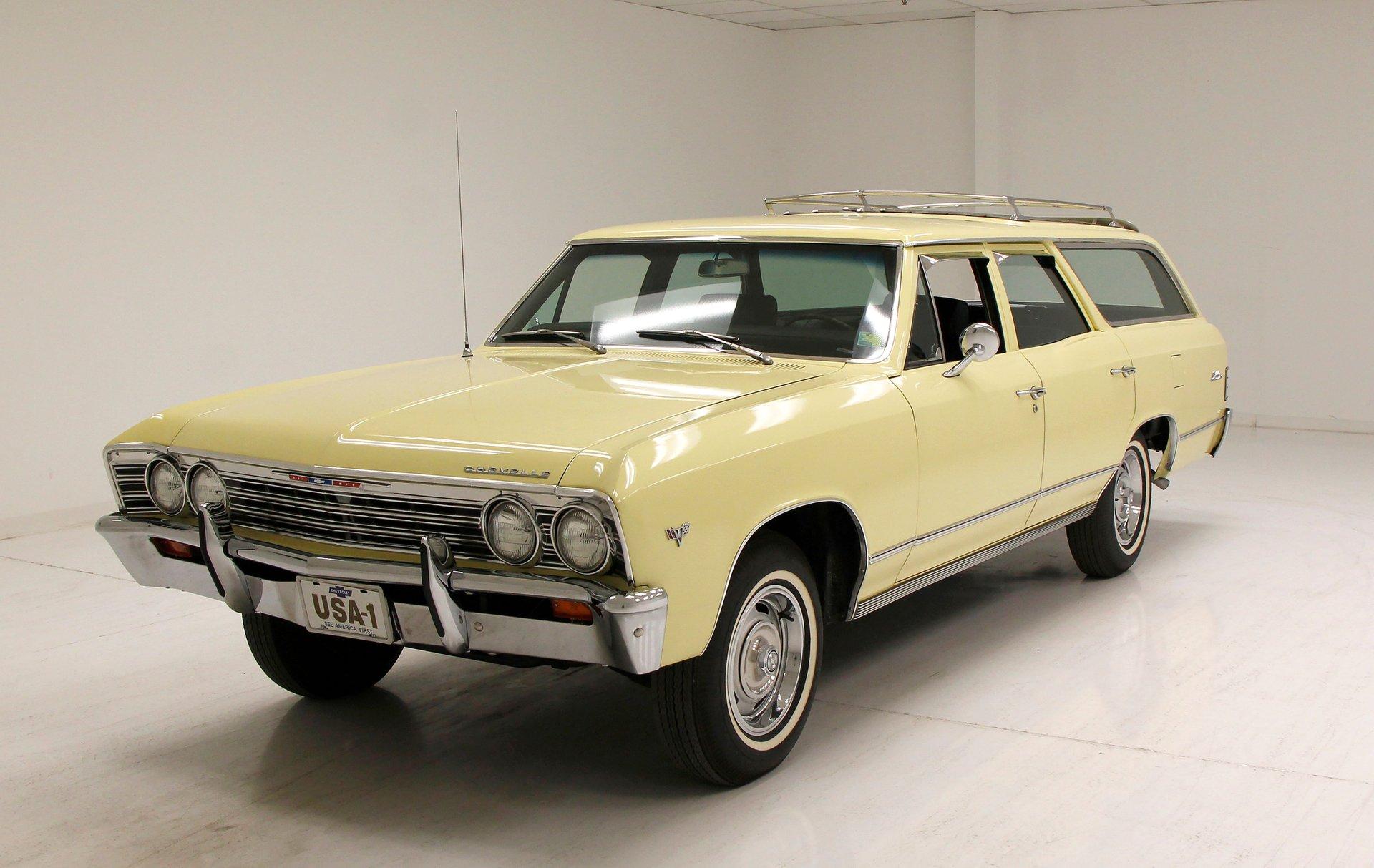 1967 Chevrolet Chevelle Malibu Station Wagon
