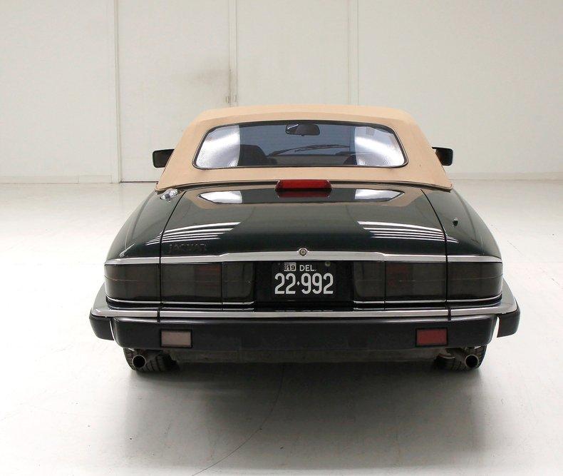 1993 Jaguar XJS Convertible 5
