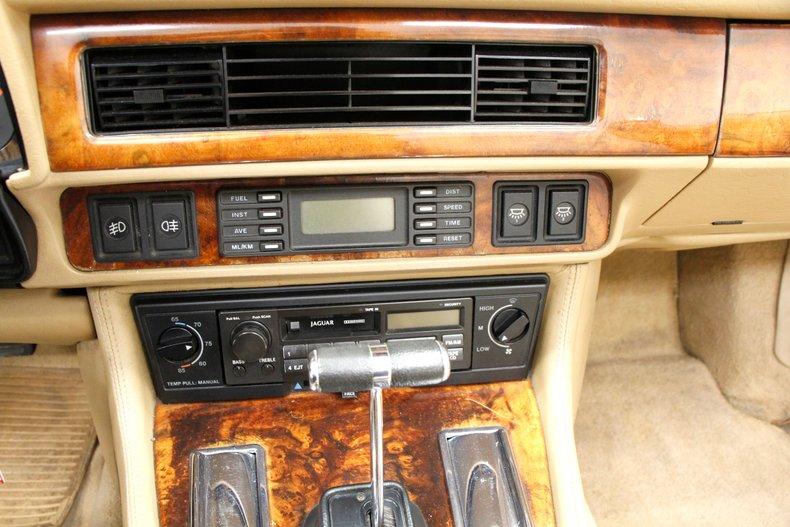 1993 Jaguar XJS Convertible 25