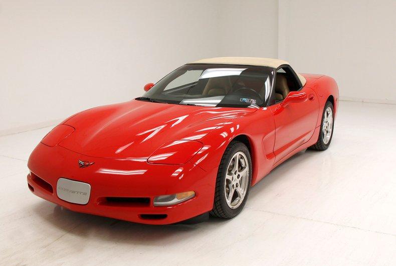 1999 Chevrolet Corvette Convertible For Sale