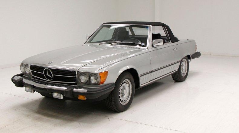 1984 Mercedes-Benz 380 SL Convertible 1