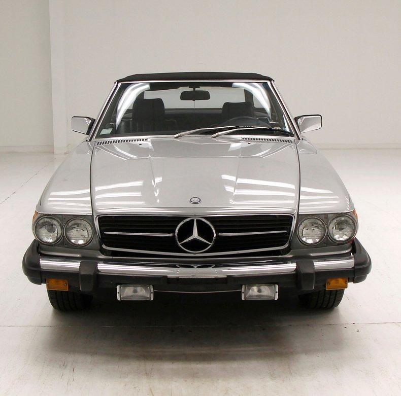 1984 Mercedes-Benz 380 SL Convertible 7
