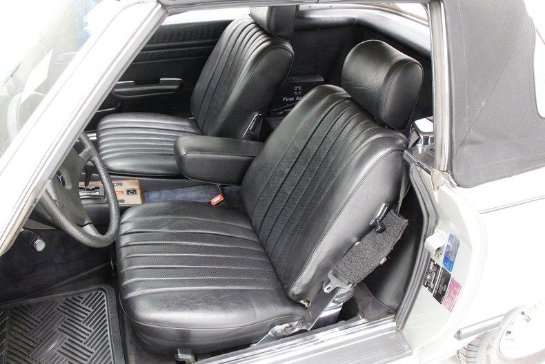 1984 Mercedes-Benz 380 SL Convertible 22