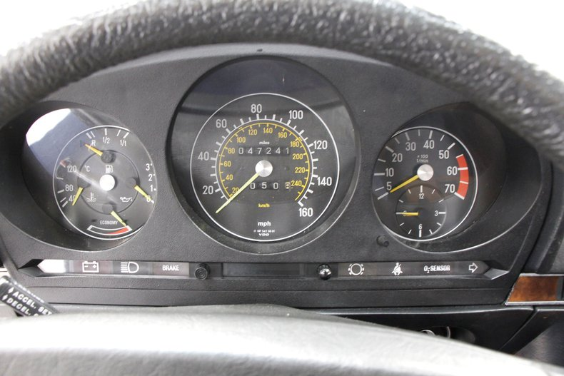 1984 Mercedes-Benz 380 SL Convertible 25
