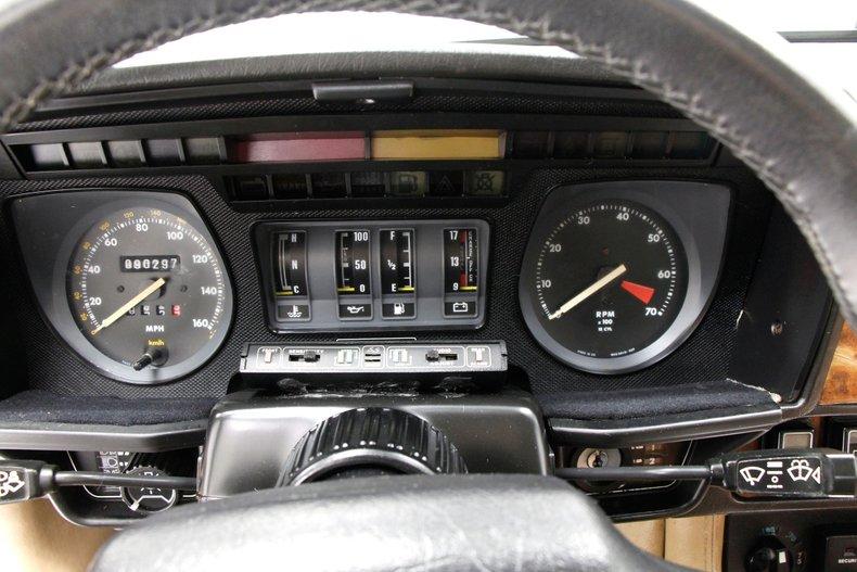 1989 Jaguar XJS V12 25