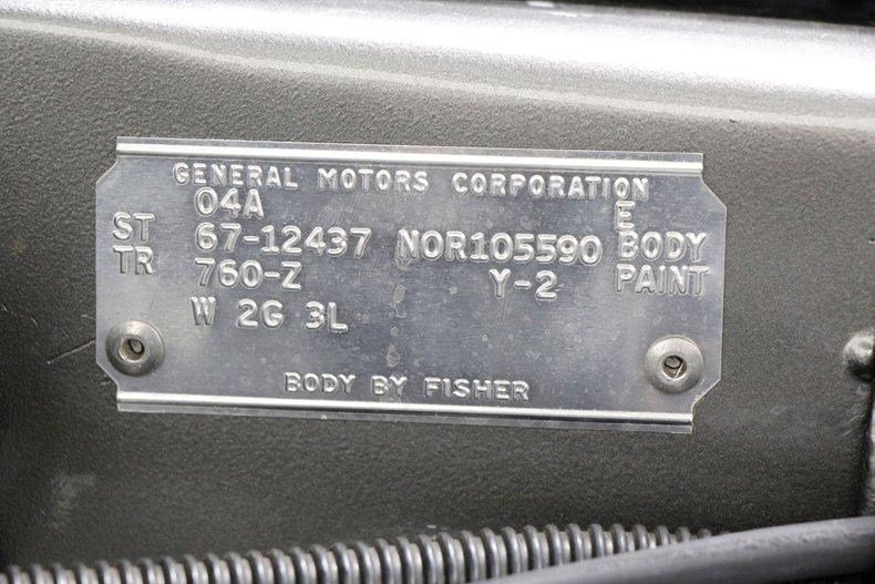 1967 Chevrolet Camaro RS 52