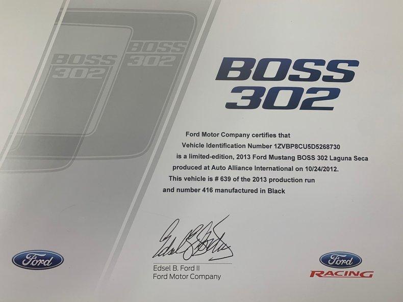 2013 Ford Mustang Boss 302 Laguna Seca 52