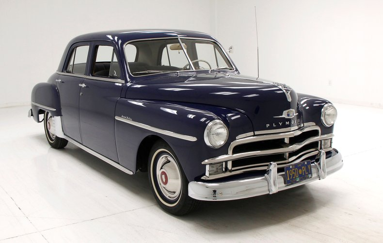 1950 Plymouth Special Deluxe 6