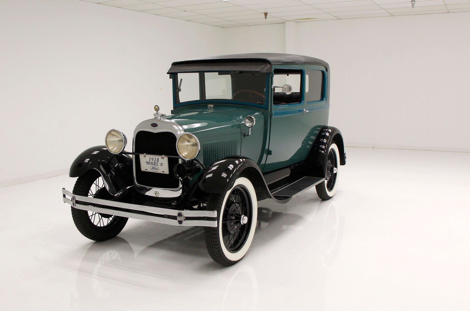 1928 Ford Model A Tudor Coupe