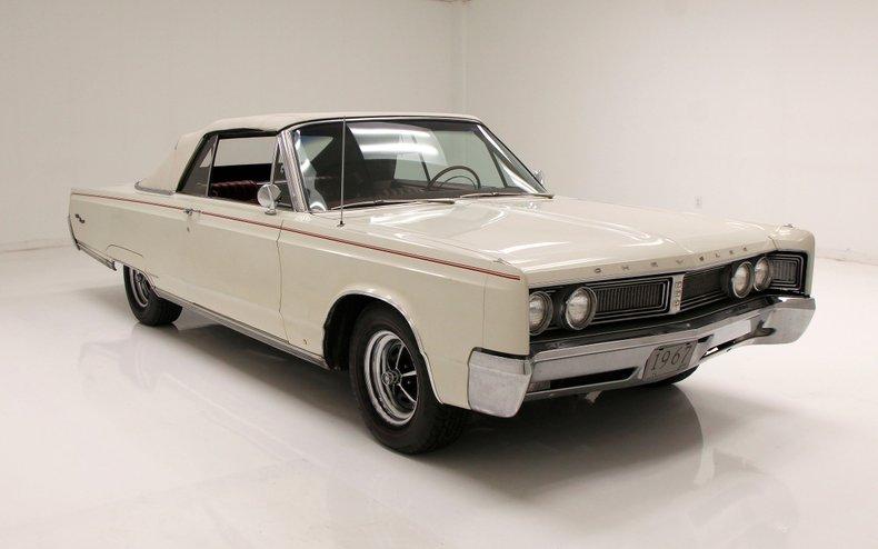 1967 Chrysler Newport Convertible 8