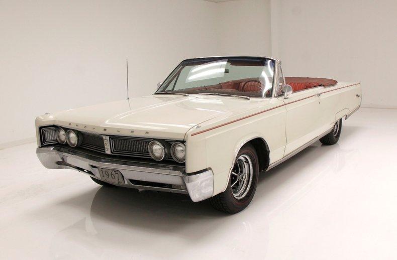 1967 Chrysler Newport Convertible 10