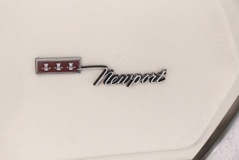1967 Chrysler Newport Convertible 17