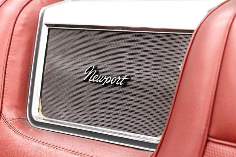 1967 Chrysler Newport Convertible 39
