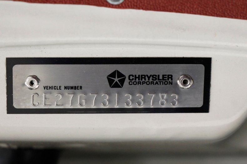 1967 Chrysler Newport Convertible 59