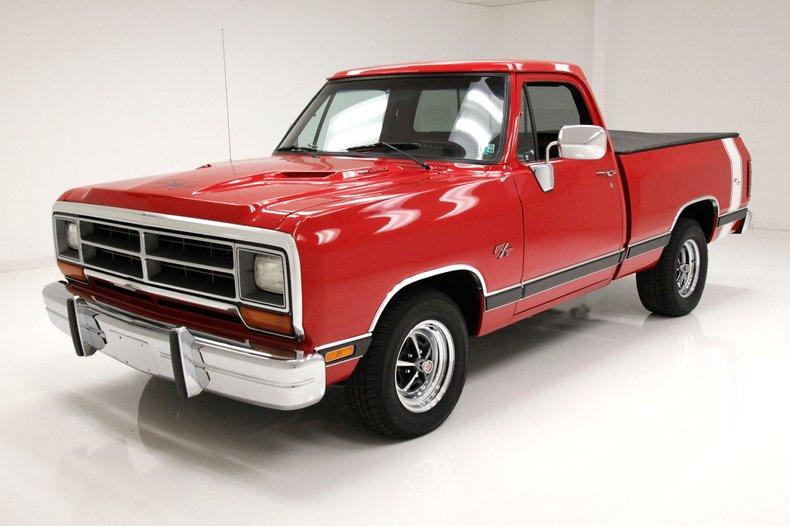 1987 Dodge Ram R  T Pickup