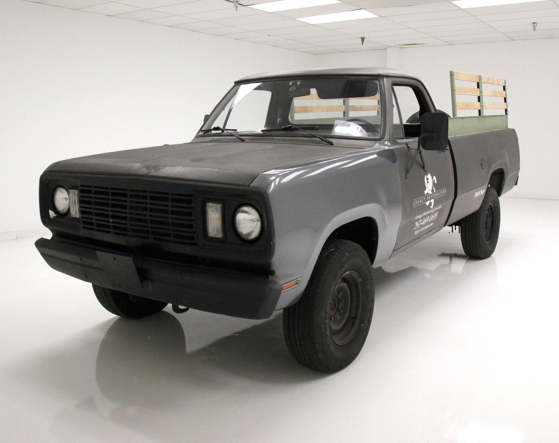1977 Dodge W200 Pickup
