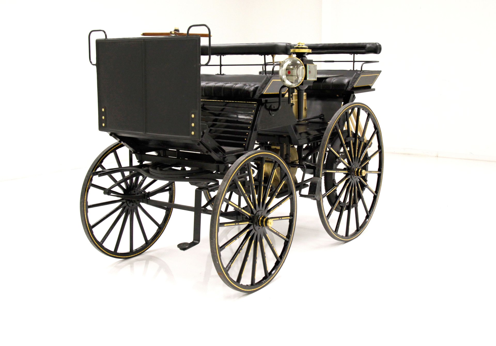 1890 Daimler Four Wheel Automobile Replica