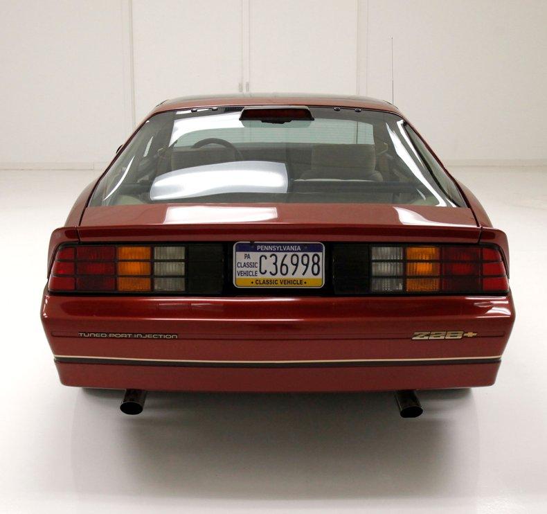 Penske Auto Mall >> 1986 Chevrolet IROC Camaro For Sale | AllCollectorCars.com