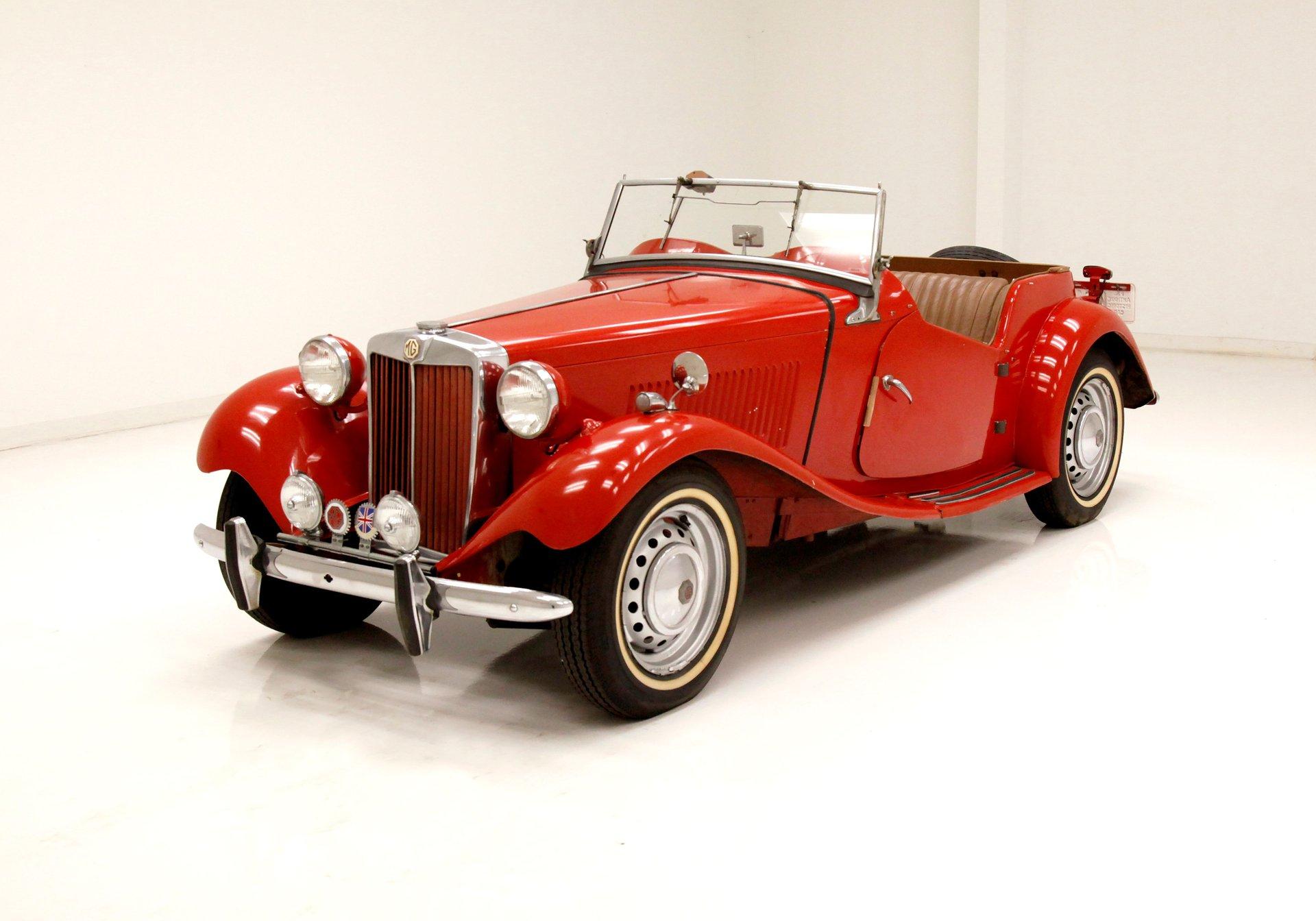 1952 Mg Td Classic Auto Mall