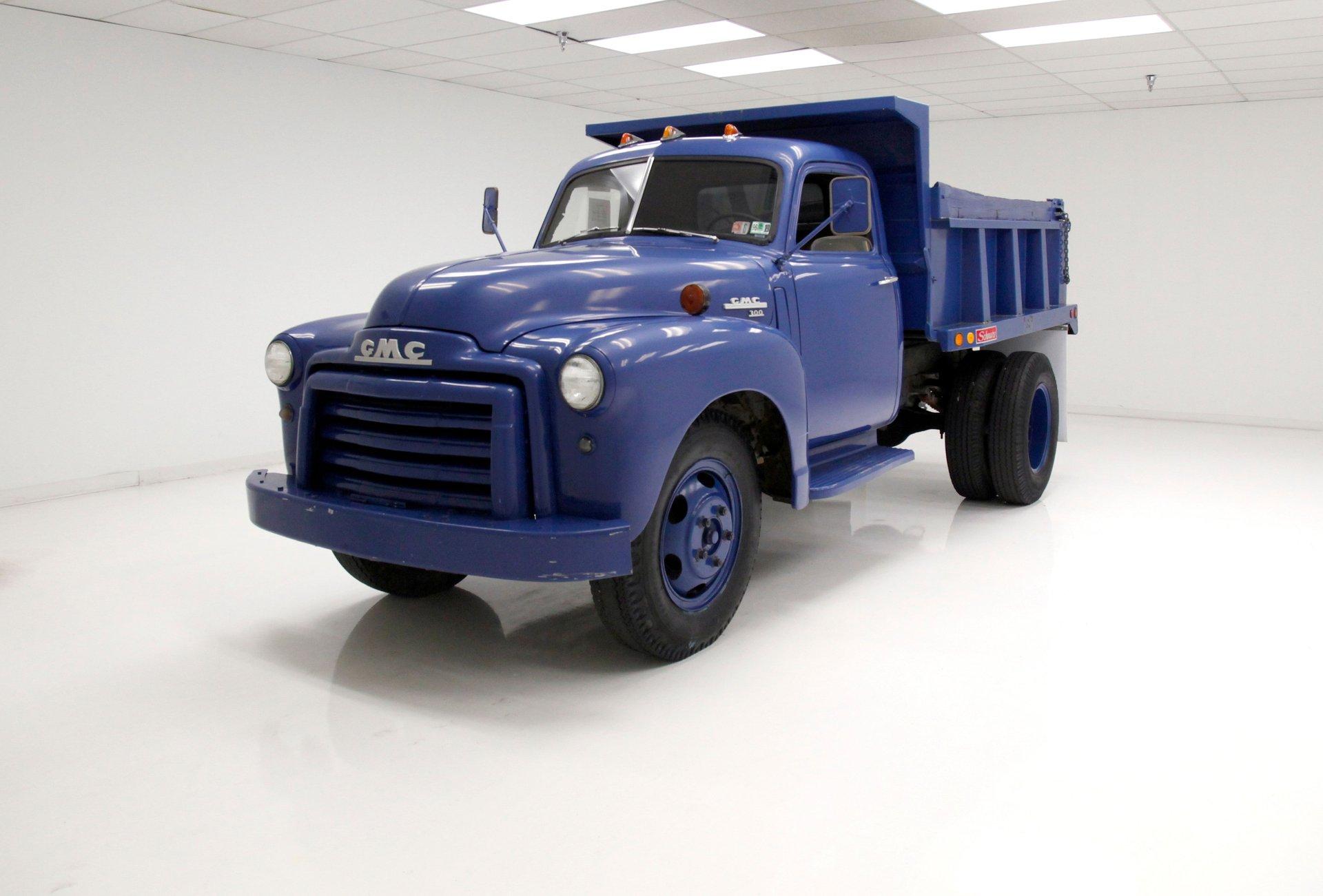 1950 Gmc 300 Dump Truck Classic Auto Mall