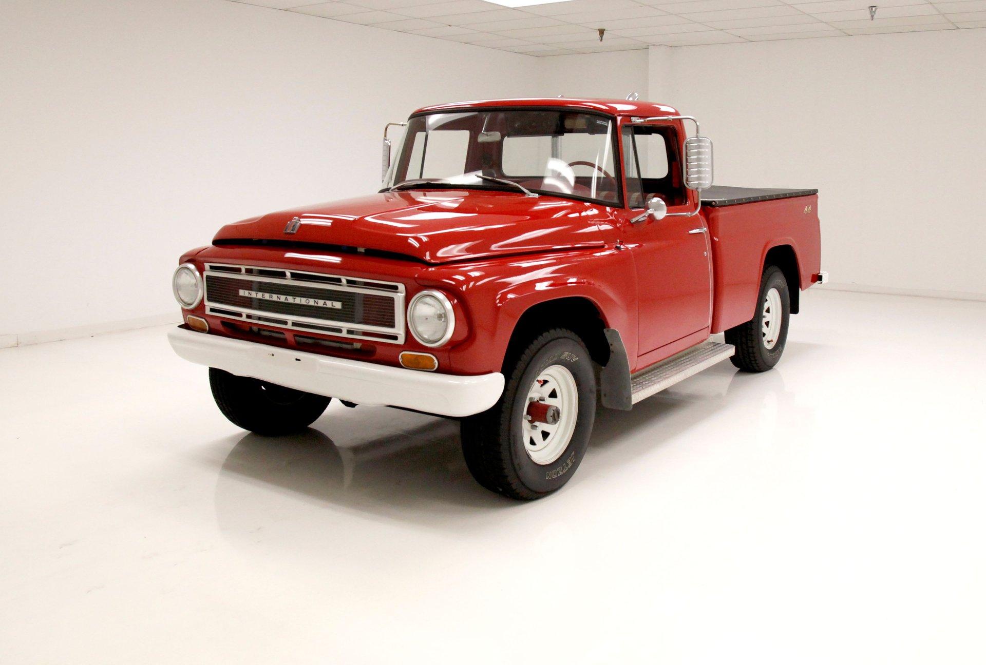 1967 International Harvester 1100B Pickup