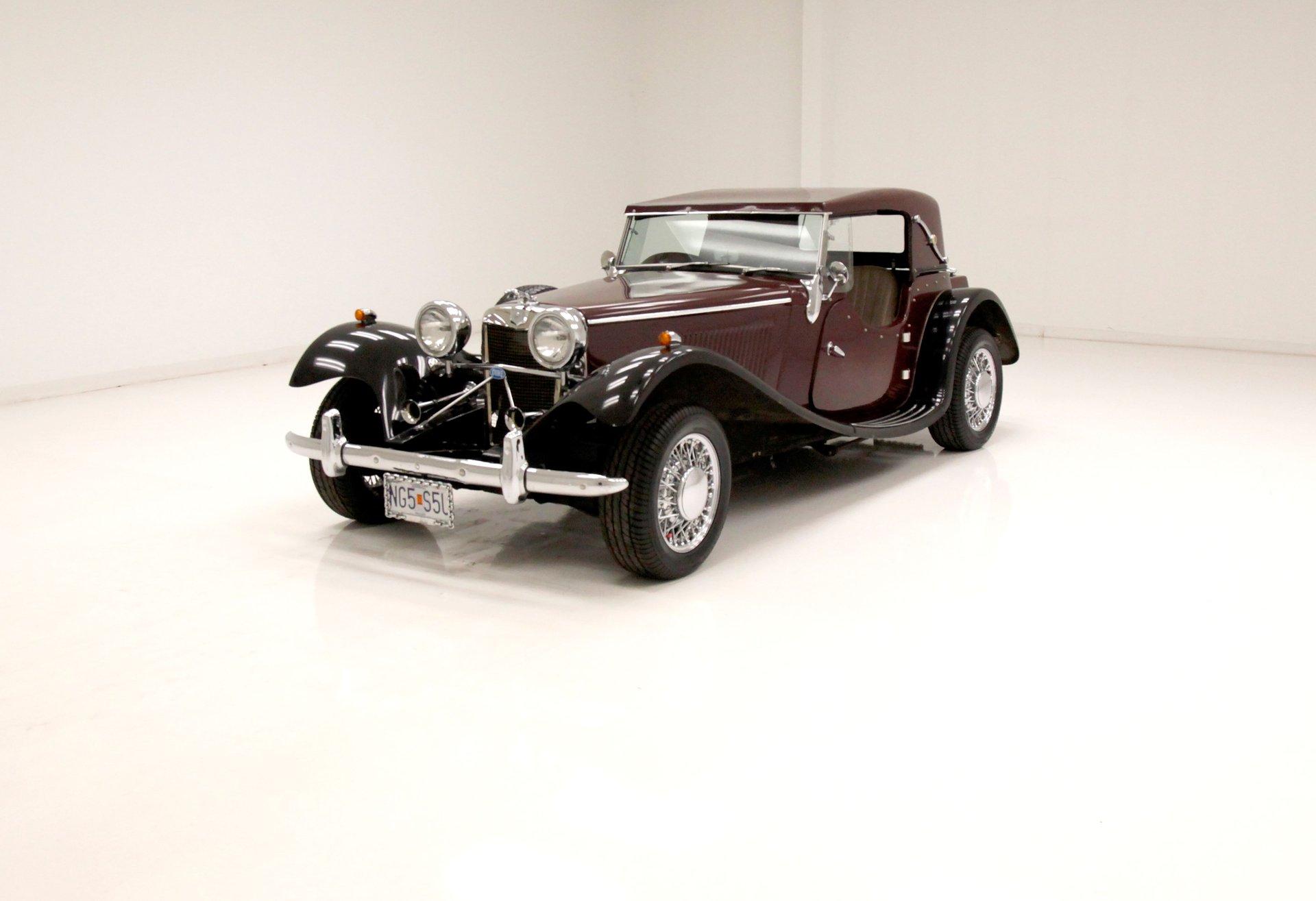 1952 Jaguar SS100