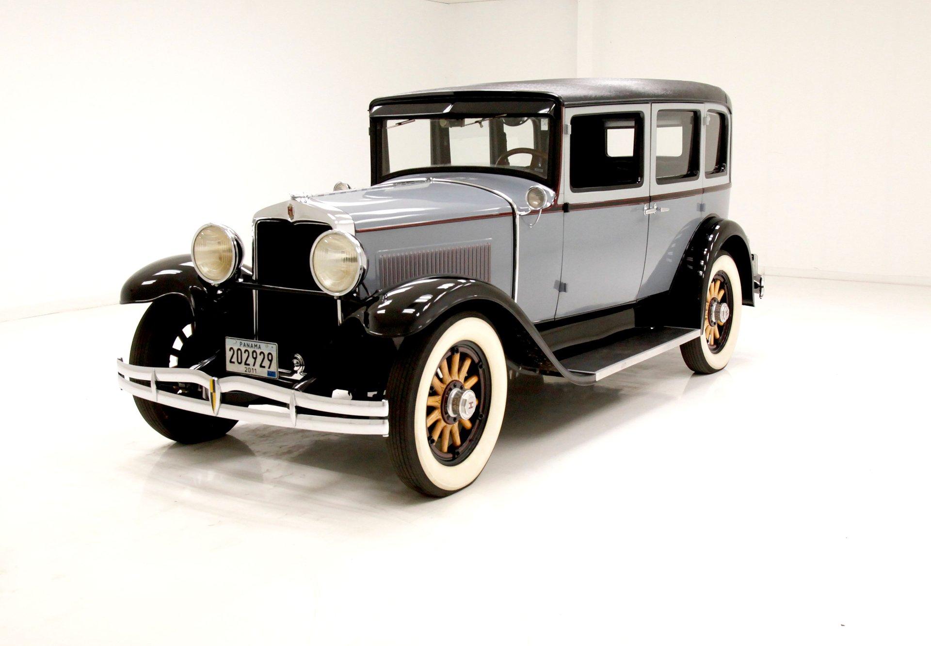 1929 Hupmobile Century 6