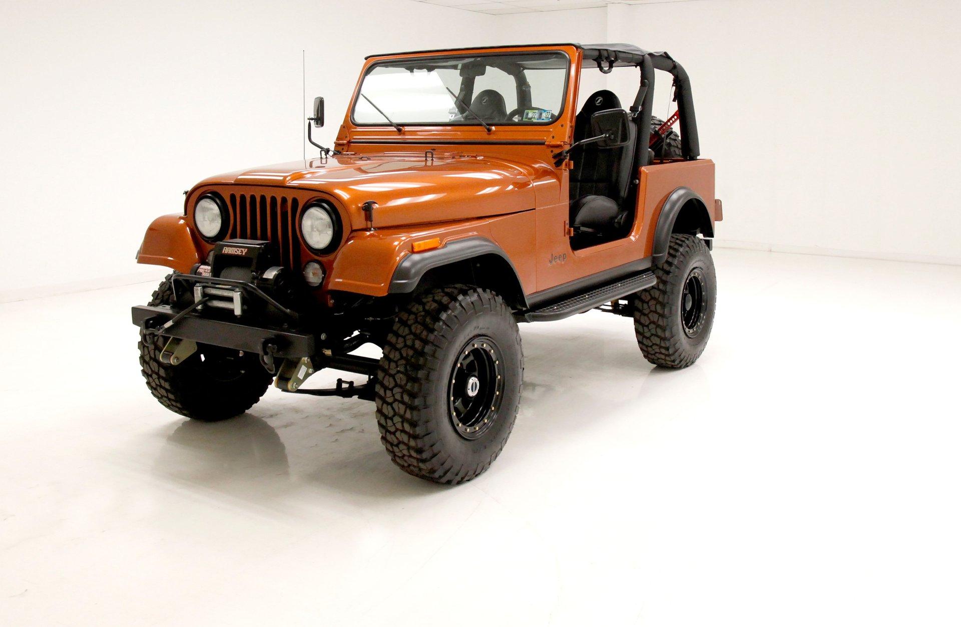 1982 AMC Jeep CJ7