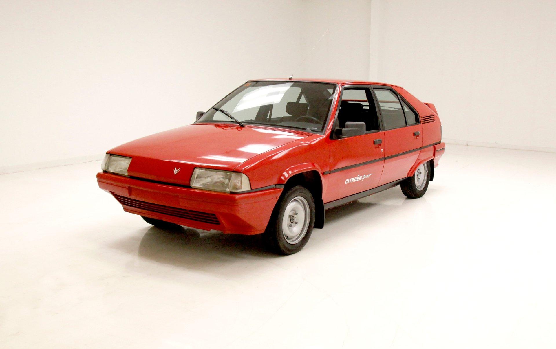 1991 Citroen BX14 TGE